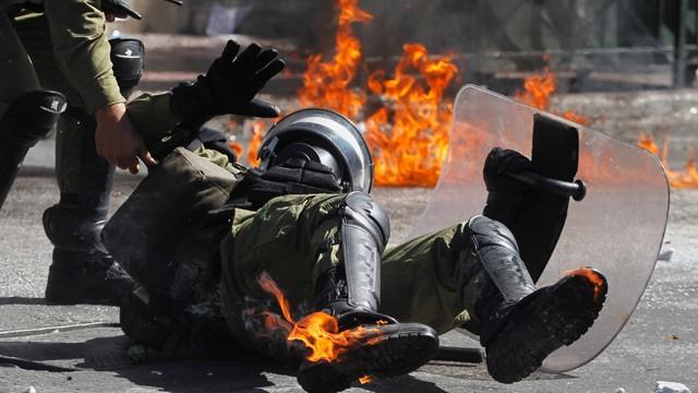 General strike against austerity hits Greece