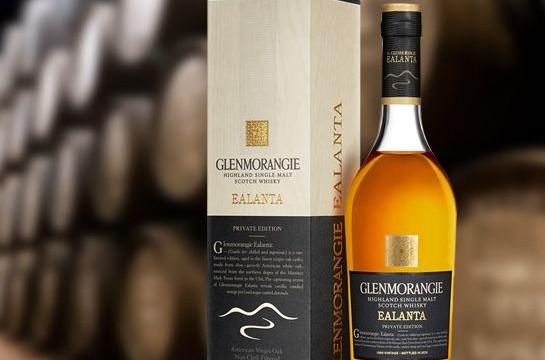 world's best whisky goes to Glenmorangie's Ealanta!