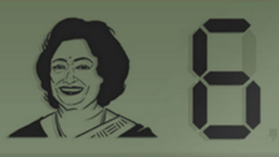 Google Doodle commemorates birthday of `human computer` Shakuntala Devi