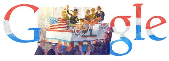 Google Doodle honours world war heroes on Veterans Day