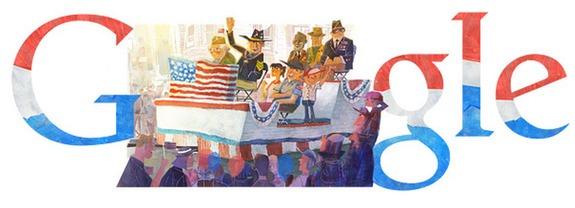 Google Doodle honours world war heroes on Veterans Day
