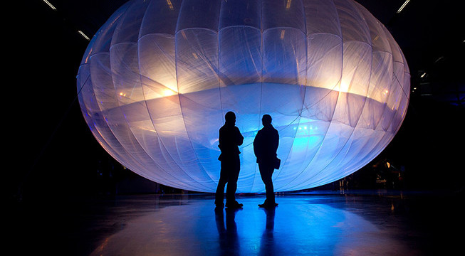 Google's Wi-Fi balloons designed to travel three times around world