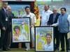 Government releases postage stamps on Sachin Tendulkar