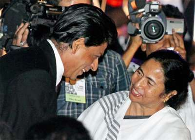 Happy Birthday SRK: Mamata Banerjee