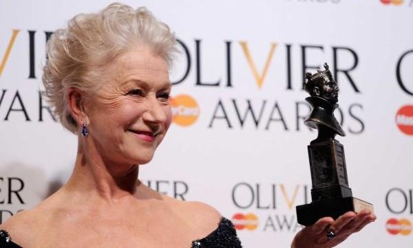 Helen Mirren wins best actress London theatre award