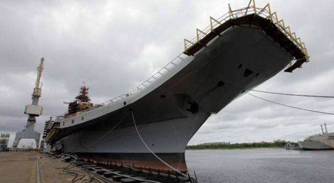 Decommissioned INS Vikrant to be auctioned