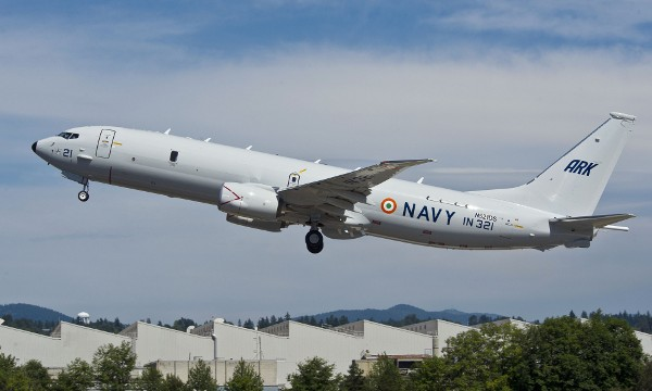 India gets second Boeing maritime patrol aircraft