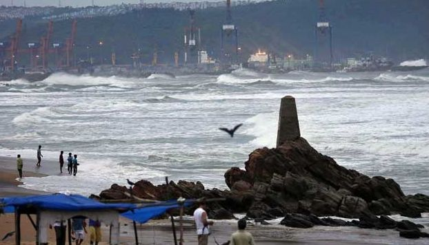 Intensity of Cyclone Helen reduces in Andhra