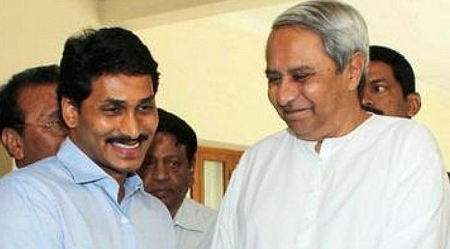 Telangana row: Jagan Reddy meets Naveen Patnaik