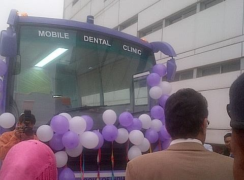 Jamia launches free mobile dental clinic