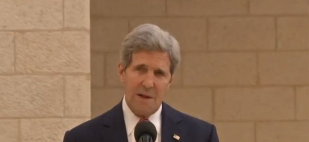 Israeli settlements are illegitimate, Kerry says