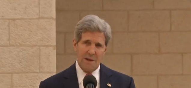 Israeli settlements are illegitimate, Kerry says