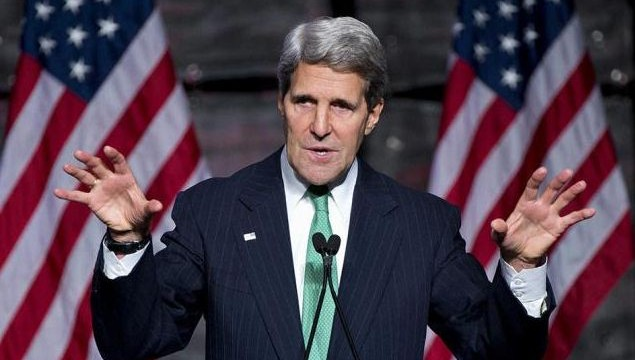 Kerry holds talks with Foreign Secretary