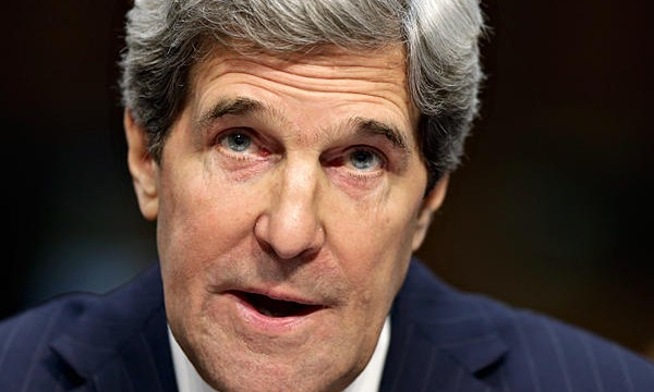 'Optimistic' Kerry says U.S. not 'blind' or 'dumb' to ease sanctions in Iran nuke talks