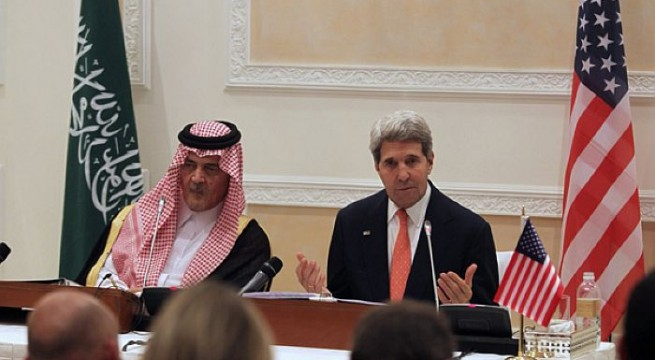 Kerry denies tensions between U.S., Saudi Arabia