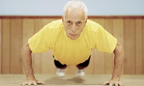 Key to healthy and happy old age: Exercise
