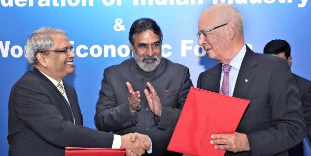 CII, World Economic Forum sign collaboration deal