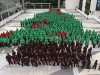 Largest human Christmas tree in Thailand sets new world record