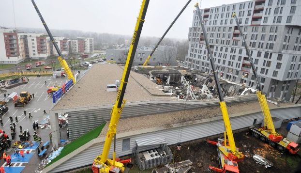 Latvian supermarket roof collapse toll rises to 51