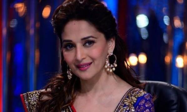 Husband compliments Madhuri for 'Dedh Ishqiya'