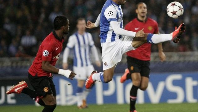 Man United, Sociedad draw 0-0 in Champions League