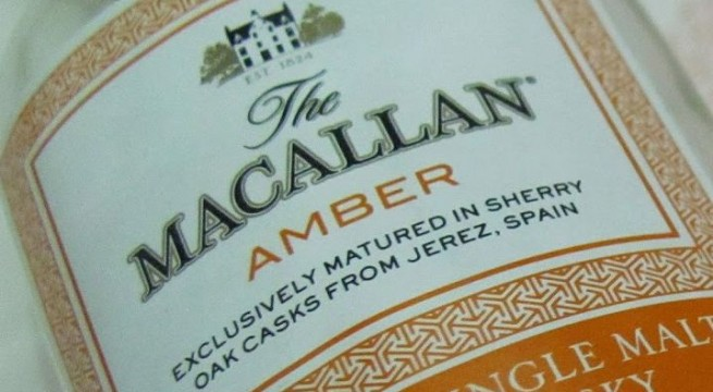 The Macallan Amber` dubbed whisky of the year 2013