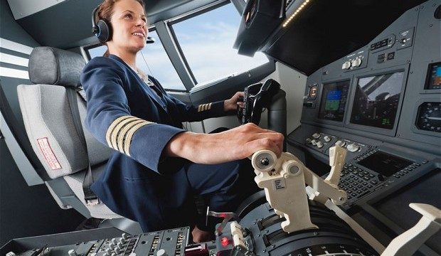 Majority of travellers don't trust female pilots