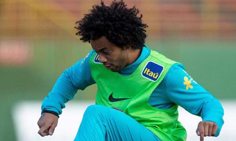 Marcelo out of Brazil friendlies