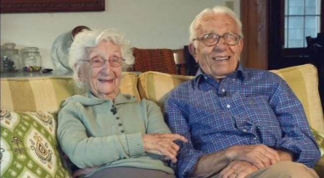 Meet the US couple who has been happily married for 81 years