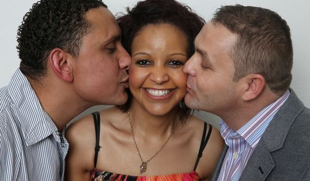 Meet the hubby, wife and lover who live together
