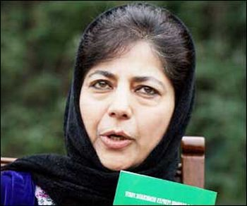 Kashmir must cement India-Pakistan friendship: Mehbooba