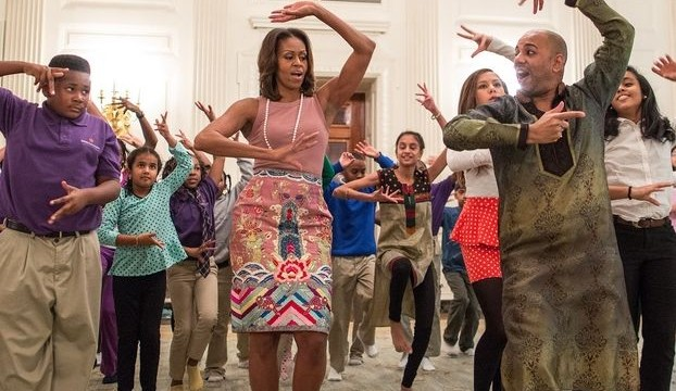 Michelle Obama celebrates Diwali with Bollywood dance moves