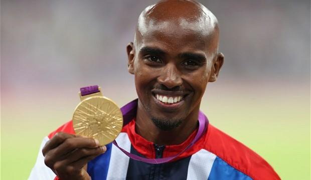 Mo Farah says Usain Bolt is his inspiration
