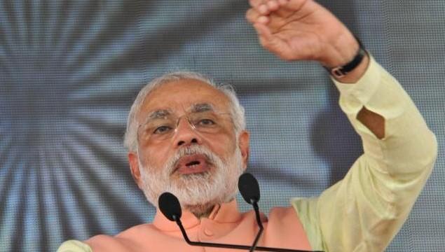 Congress in the habit of breaking promises, says Modi