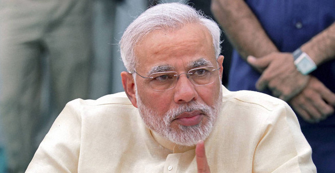 Congress has no other work except tracking me: Modi
