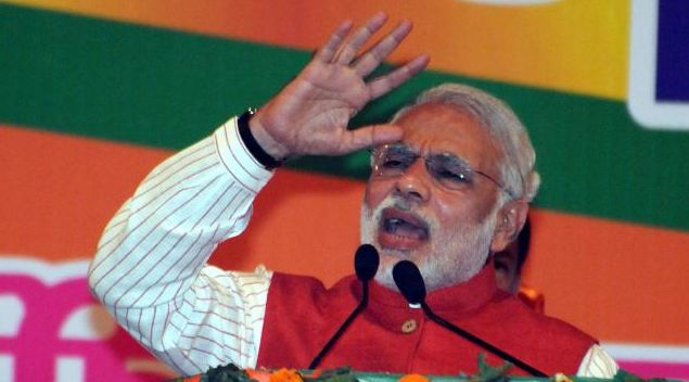 Delhi Assembly polls: Narendra Modi targets Congress, Aam Aadmi Party