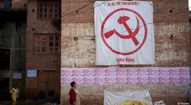 NC, UML lead in Nepal polls, Maoists lag far behind