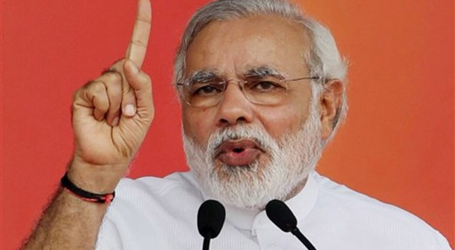Better to be tea-seller than sell out the nation: Modi
