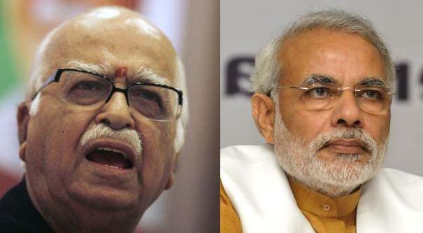 Modi wishes Advani on his birthday