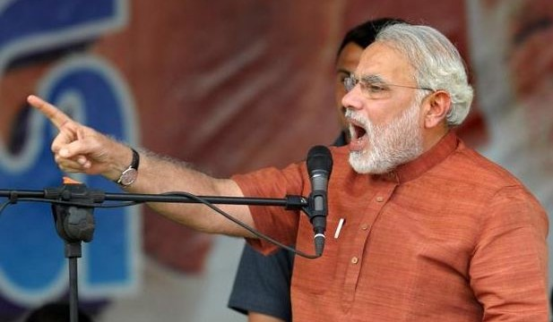 Modi attacks 'arrogant' Nitish, Congress 'shahzada'