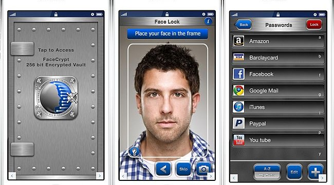 New FaceCrypt app uses face-recognition technology for accessing passwords