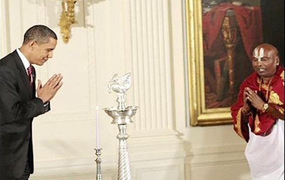 Obama wishes Indians 'Happy Diwali and Saal Mubarak'