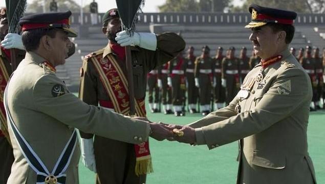Pak army's new leader takes over