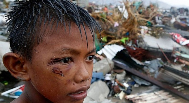 Typhoon death toll tops 3,600 in Philippines