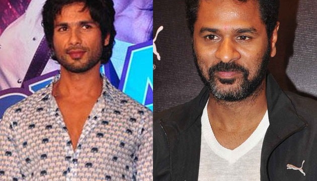 Prabhudheva wants to work with Shahid again
