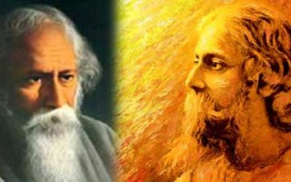 Sand sculpture marks Tagore's Nobel Prize centenary