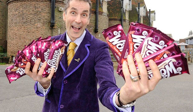 Real-life Willy Wonka believes chocolate has power to end world's problems
