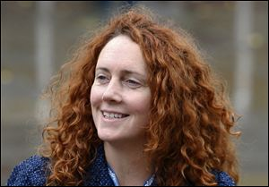 Rebekah Brooks once told Colin Montgomerie's ex-wife 'hacking voicemails easy'