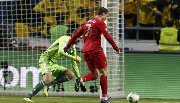 Ronaldo's hat trick sends Portugal to World Cup