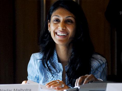 For HCL heiress Roshni Nadar, philanthropy is priority